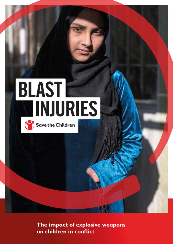 Blast Injuries report cover